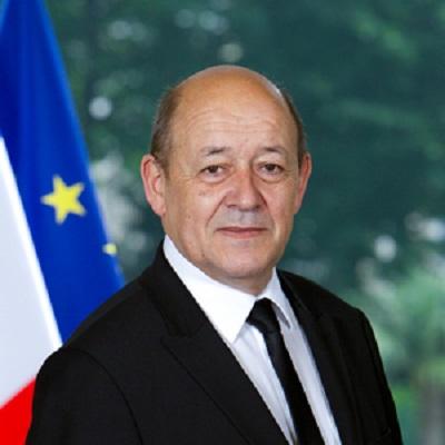 الشاهد يلتقي وزير الخارجية الفرنسي