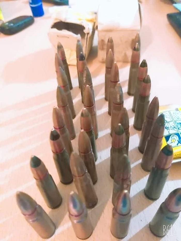 الصخيرة: الديوانة تحجز 32 طلقة عيار 7 مم لسلاح كلاشنكوف