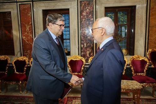 فحوى لقاء راشد الغنوشي بسفير روسيا بتونس