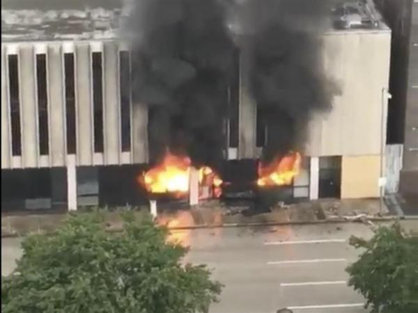 انفجار في مبنى بمدينة هيوستون الأمريكية