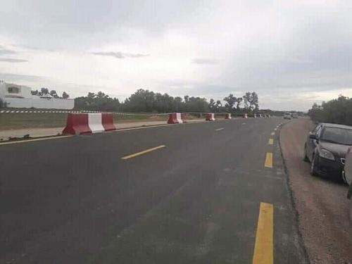 تقدّم أشغال الطريق الجهوية رقم 27 الرابط بين نابل وقربة