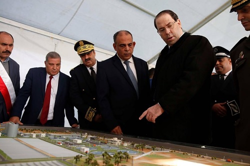 قلعة الاندلس: الشاهد يُعاين مشروع تحويل المياه المعالجة لمحطات التطهير الى داخل البحر