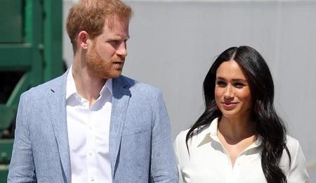 الأمير هاري وزوجته يتنازلان عن مهامهما بالعائلة الملكية
