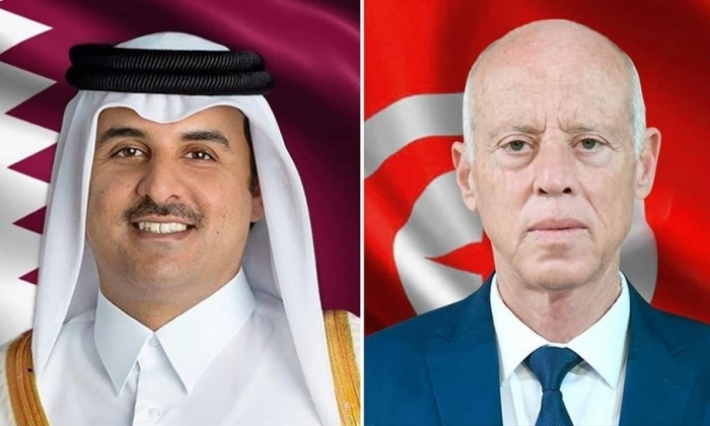 أمير قطر في زيارة رسمية إلى تونس