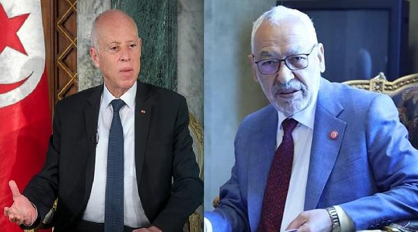 """""""الحرب الدستورية"""" تشتعل رسميا بين قيس سعيد و الغنوشي"""