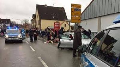 إصابات في عملية دهس بألمانيا