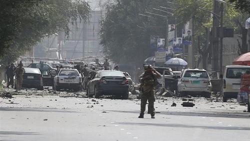 قتلى في هجوم انتحاري في كابول