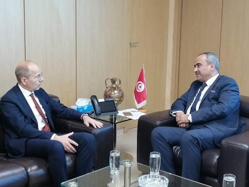 رئيس البنك الألماني للتنمية  في أول زيارة لتونس