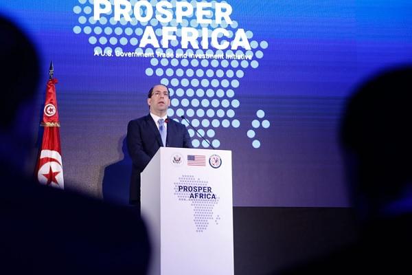 """الشاهد يشرف على إطلاق المبادرة الأمريكية """"ازدهار إفريقيا"""""""