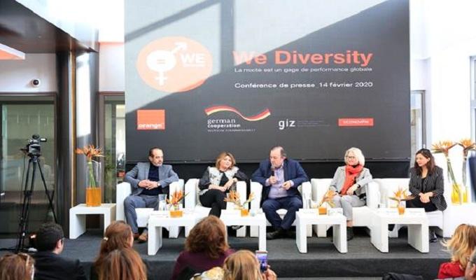 البرنامج الرائد We Diversity لاورنج تونس بدعم من GIZ: تعزيز للمساواة بين الجنسين والنهوض بتمثيلية المراة العاملة داخل المؤسسة