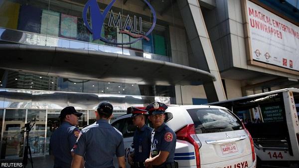 الفلبين: إطلاق نار واحتجاز رهائن بمركز تجاري
