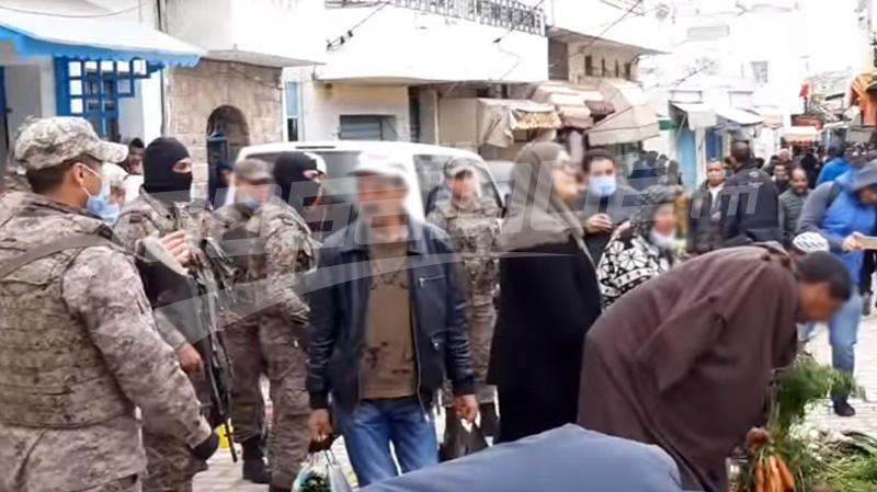 أريانة: قوات الأمن والجيش تطوق محيط السوق البلدي