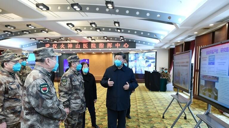 """الرئيس الصيني يعلن السيطرة على """"كورونا"""" في بؤرة تفشي الفيروس"""