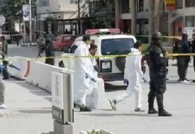 استشهاد أمني في العملية الإرهابية بمحيط السفارة الامريكية