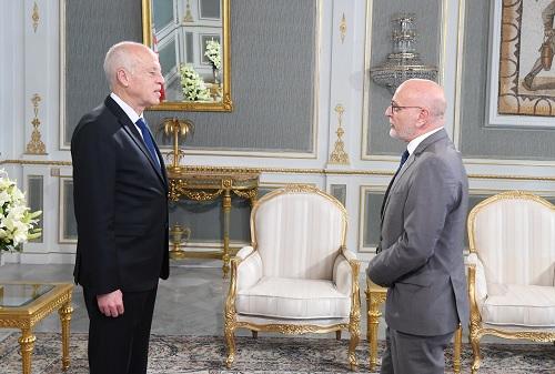 رئيس الجمهورية يلتقي ممثلا عن منظمة الصحة العالمية بتونس
