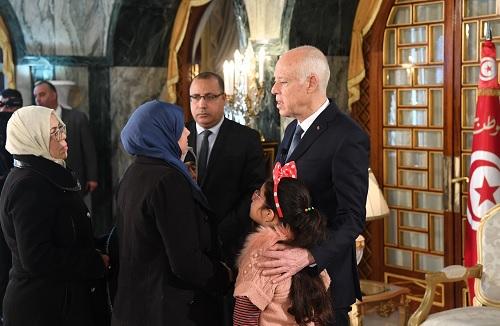 تكريم عائلة الشهيد توفيق الميساوي وجرحى العملية الإرهابية