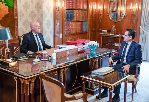 رئيس الجمهورية يلتقي وزير الخارجية