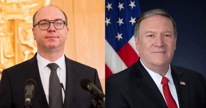 وزير الخارجية الأمريكي يهنئ الفخفاخ