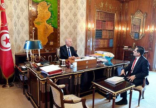 مقاومة فيروس كورونا محور لقاء سعيّد ووزير الخارجية