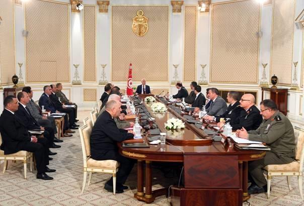 رئيس الجمهورية يشرف حاليا على اجتماع مجلس الأمن القومي