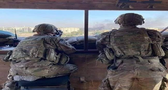 """قوات """"المارينز"""" على اسطح السفارة الامريكية"""