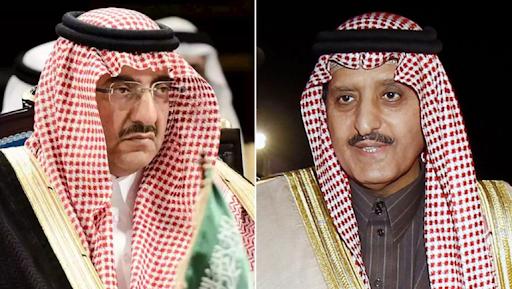 اعتقال الأمير محمد بن نايف وشقيق العاهل السعودي
