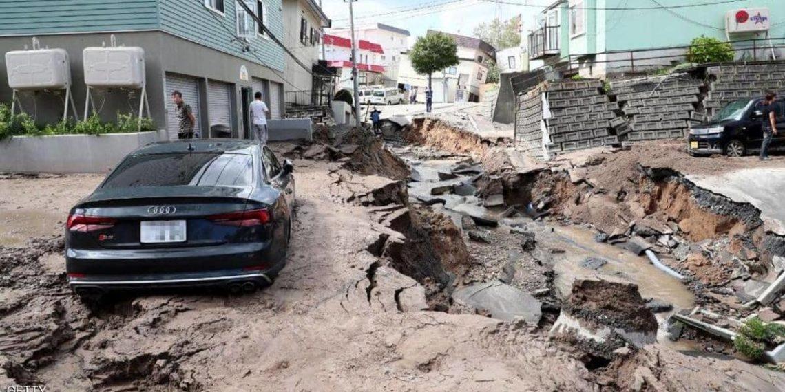 زلزال بقوة 6,2 يضرب قبالة سواحل اليابان