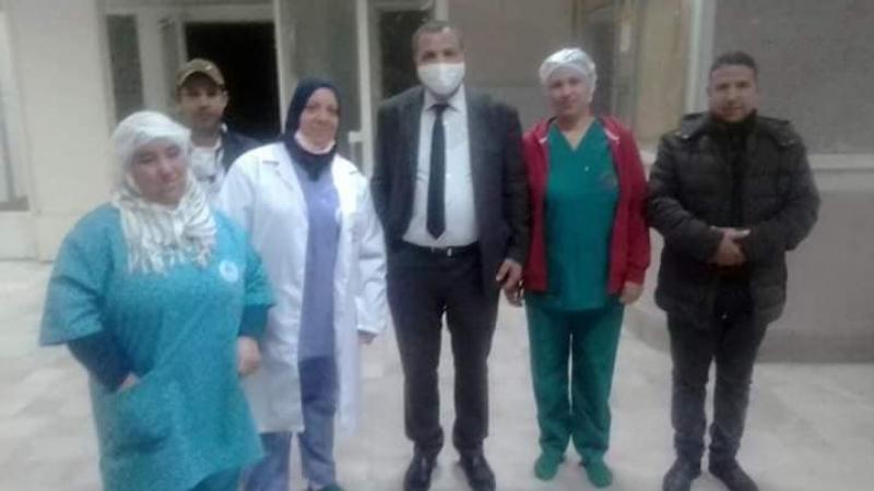 وزير الصحة في زيارة غير معلنة لمستشفى الكاف