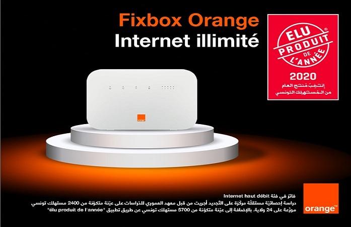 """Fixbox أورنج تونس يتوّج كأفضل """" مُنتج العام"""" من طرف المستهلك التونسي"""