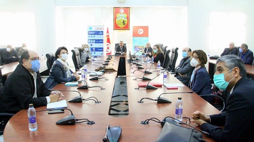 اجتماع اللجنة العلمية لمتابعة إنتشار فيروس كورونا