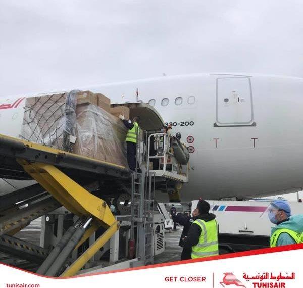 قادمة من الصين: مستلزمات طبية إضافية في طريقها الى تونس (صور)