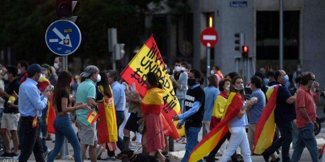 """إسبانيا: """"تمديد إستثنائي"""" للطوارئ وسط احتجاجات شعبية"""