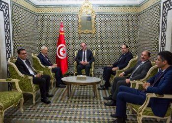 الفخفاخ يلتقي رؤساء أحزاب و كتل الإئتلاف الحكومي