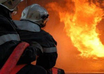 السيطرة على حريق أتى على هكتارين من الشعير ببرج العامري