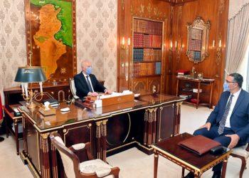 رئيس الجمهورية يلتقي وزير الدفاع الوطني