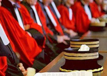 المجلس الأعلى للقضاء يرفض اجراءات الحكومة لاستئناف العمل تدريجيا بالمحاكم