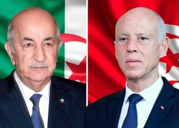 مكالمة هاتفية بين قيس سعيّد و عبد المجيد تبون