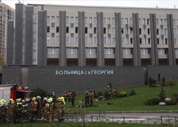 روسيا: حريق في مستشفى لعلاج كورونا يودي بحياة 5 اشخاص