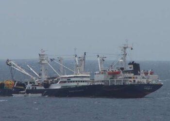 اختطاف سفينة كورية جنوبية غرب إفريقيا