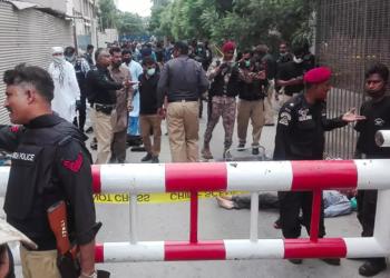 قتلى في هجوم على بورصة كراتشي