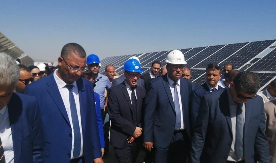 """تدشين محطة الطاقة الكهربائية الشمسية """"شمس النفيضة"""""""