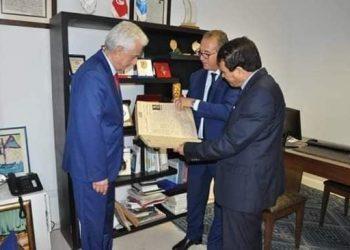 قريبا.. اتفاقية شراكة بين المحكمة الدولية للتحكيم و المعهد العربي لحقوق الانسان