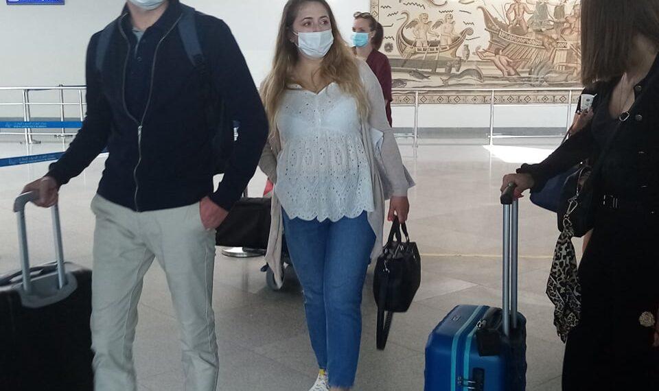 مطار جربة جرجيس: وصول أول رحلة غير منتظمة على متنها 155 سائحا (صور)