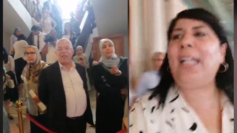 الشرطة العدلية في البرلمان لفك اعتصام الدستوري الحرّ