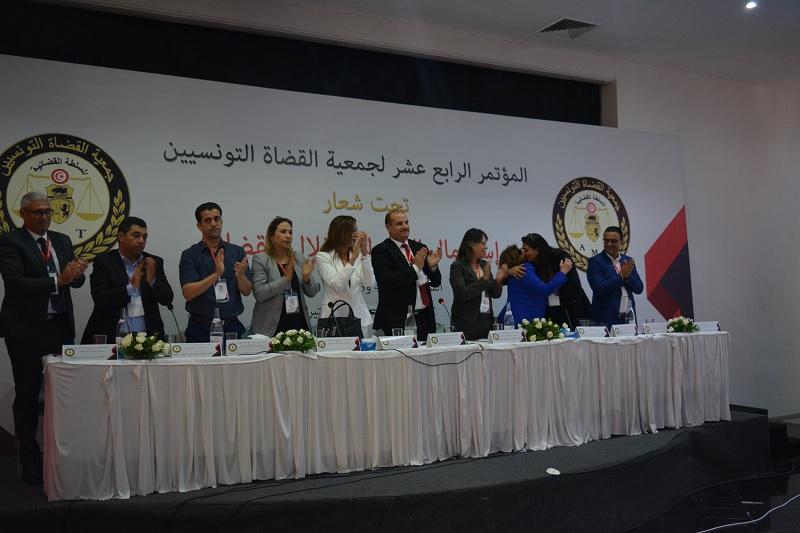 إعادة انتخاب انس الحمادي رئيسا لجمعية القضاة