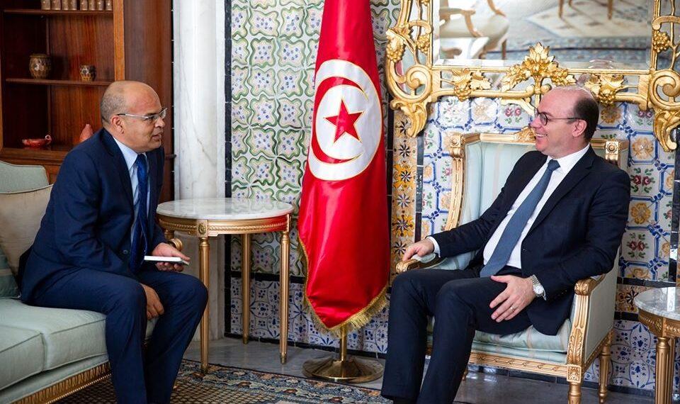 رئيس الحكومة يلتقي رئيس المجلس الأعلى للقضاء