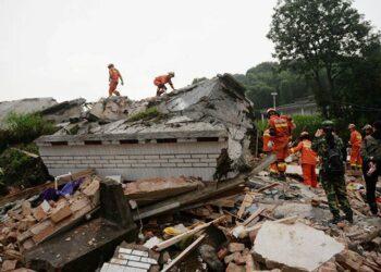 زلزال بقوة 6.6 يضرب جنوب غرب الصين