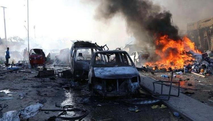 انفجار سيارة ملغومة في نقطة تفتيش بميناء مقديشو