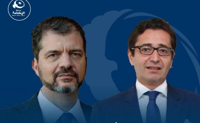 النهضة ترشح محمد خيام التركي والفاضل عبد الكافي لرئاسة الحكومة