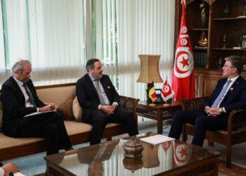 وزير السياحة يدعو السفير البلجيكي إلى فتح الحدود مع تونس